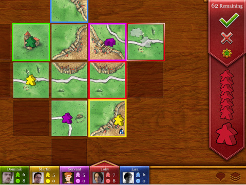 carcassonne The 40 Best Multiplayer Games for iPhone and iPad
