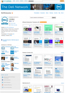 dell slideshare channel 210x300 How to get the most out of SlideShare
