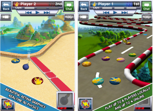 disc drivin 520x379 The 40 Best Multiplayer Games for iPhone and iPad