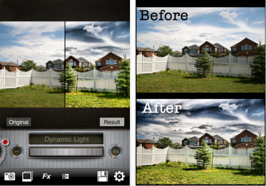 dynamic light 520x365 The Top 30 Best Photography Apps for iPhone