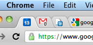 favicon Google Calendars favicon now shows the current date