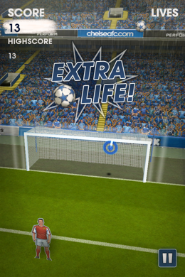 flick kick chelsea 2 Flick Kick Chelsea Brings Team Pride to The Number One Football App