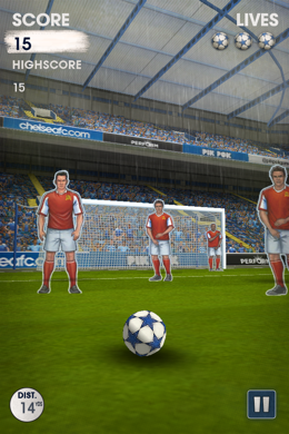 flick kick chelsea 3 Flick Kick Chelsea Brings Team Pride to The Number One Football App