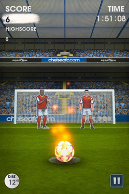 flick kick chelsea 4 1 Flick Kick Chelsea Brings Team Pride to The Number One Football App