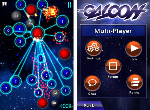 galcon 520x380 The 40 Best Multiplayer Games for iPhone and iPad