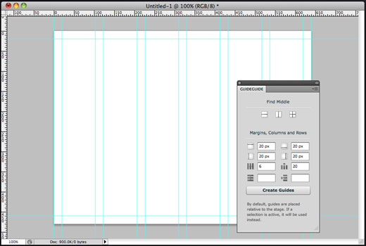 guideguide GuideGuide makes Photoshop grid setup easy