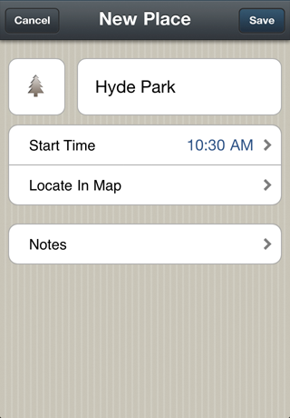 img1 Itinerary: A beautiful trip planner for the iPhone