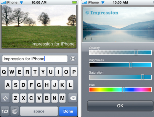 impression 520x396 The Top 30 Best Photography Apps for iPhone