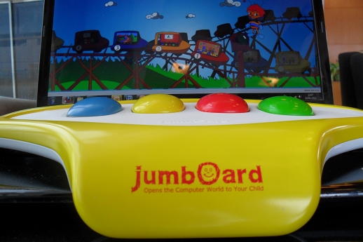 jumboard2 Jumboard wants to turn your computer into a pre schoolers favorite toy