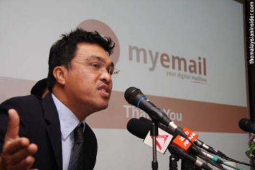 "Malaysia's new ""official"" email address for each citizen will also offer biometric ..."