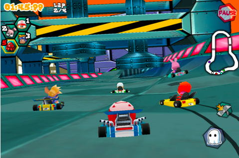krazy kart The 40 Best Multiplayer Games for iPhone and iPad