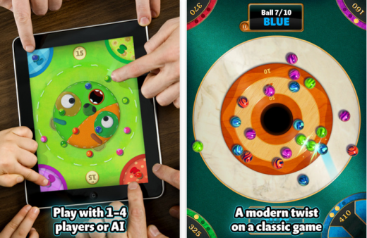 marble mixer 520x338 The 40 Best Multiplayer Games for iPhone and iPad