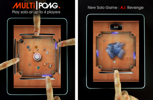 multipong 520x339 The 40 Best Multiplayer Games for iPhone and iPad