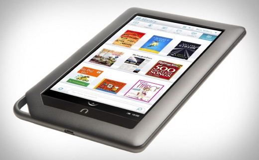nook color xl 520x321 Barnes & Nobles NOOK Color now has Apps. More Angry Birds, less reading?
