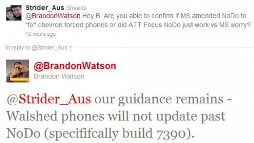 nopastnodo 520x292 Microsoft: Forced NoDo on your WP7 handset? You cant upgrade any further