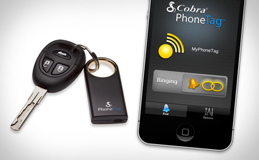 phonetag xl 1 Find your smartphone with your keys using the Cobra Tag