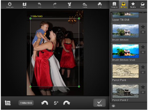 photostudio1 FX Photo Studio HD: An iPad app bursting with effects and filters