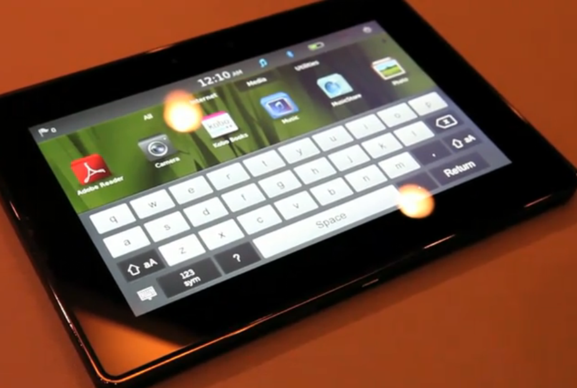 Apple's iPad 2 touchscreen orders reportedly delay BlackBerry Playbook launch