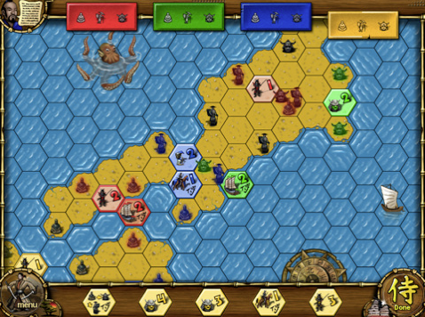 reiner knizia samurai The 40 Best Multiplayer Games for iPhone and iPad