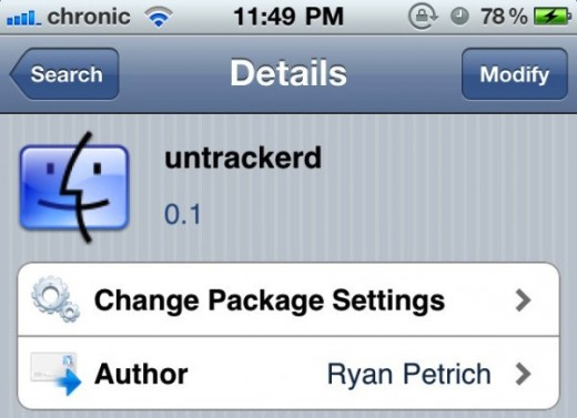 untrackerd 520x377 Worried About iPhone Tracking? Jailbreak Utility Untrackerd Will Fix That For You