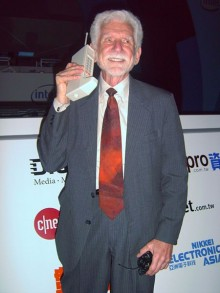 who invented the cell phone worlds first cell phone 220x293 38 years ago today the first mobile phone call was made