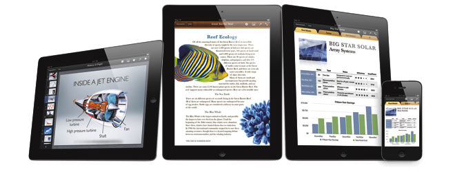 Apple has released iWork for iPhone and iPod touch