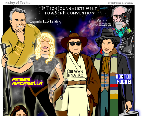 What if all of your favorite tech journalists went to a sci-fi convention?