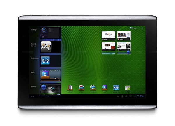 Acer Iconia A500 India gets its first Honeycomb tablet