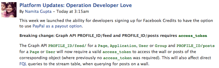 Developer Blog Facebook Developers 1 Attention devs: From June 3rd, your apps might no longer work with Facebook!