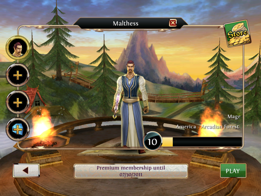 IMG 0264 Order & Chaos is the closest to World of Warcraft your iOS device can get