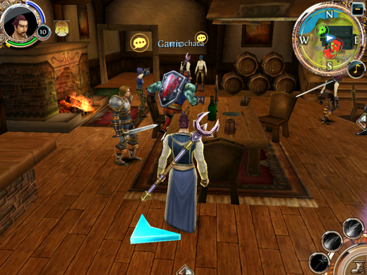 IMG 0269 Order & Chaos is the closest to World of Warcraft your iOS device can get