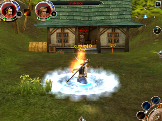 IMG 0281 Order & Chaos is the closest to World of Warcraft your iOS device can get