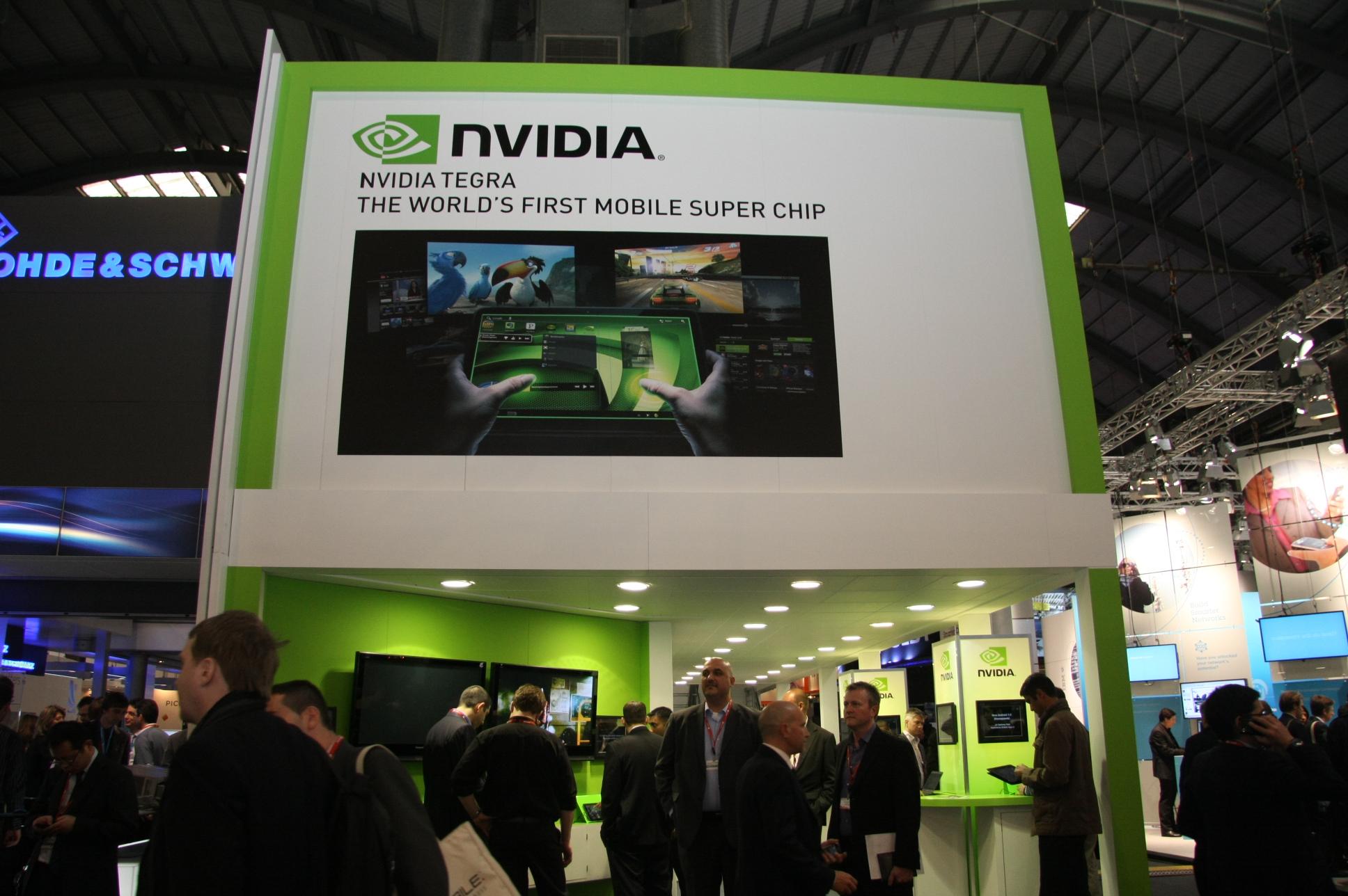 NVIDIA's quad-core Kal-El Tegra processor shows off its dynamic lighting capabilities
