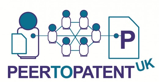 PeerToPatentUKLogo2 520x269 Peer to patent: the pilot scheme that might just kick start the UK IP revolution