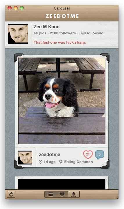 Picture 12 Carousel is quite literally the most beautiful Instagram experience for your Mac