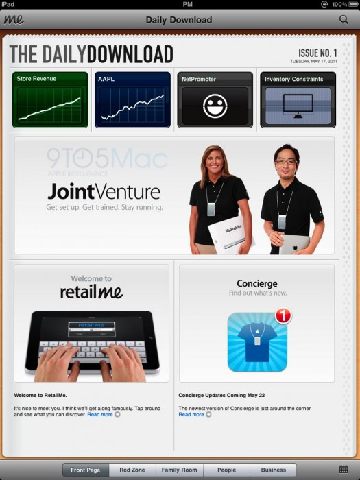 RetailMe screen 2 Apples new RetailMe iPad app powers Apple Store 2.0, delivers The Daily Download