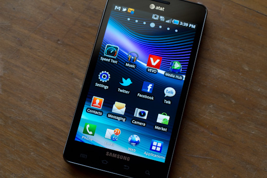 Samsung infuse 4g 10 Review: Samsung Infuse 4G is huge, fast, held back by software