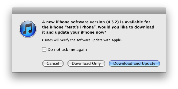 Screen shot 2011 05 04 at 10.29.53 AM Apple has released an iOS 4.3.3 update, fixing location database issues
