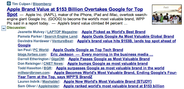 Screen shot 2011 05 09 at 11.40.10 AM Brand value aside, Google is still worth more than Apple