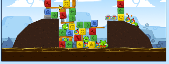 Angry Birds for Chrome already hacked, unlocking all levels