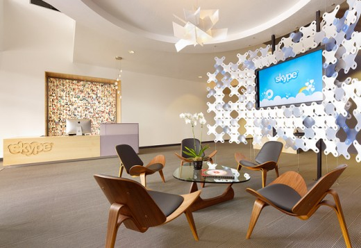 SkypePaloAltoOffice1 520x357 Microsoft Looks Set To Acquire Some Stunning Skype Office Space