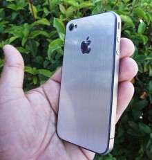 aluminum iphone 4 wrap and protective cover 1 220x231 Improved notifications, NFC and voice control: Whats next for Apples iPhone?