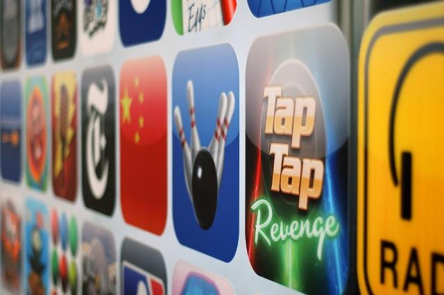 Apple accounts for nearly two thirds of all app downloads despite fierce competition