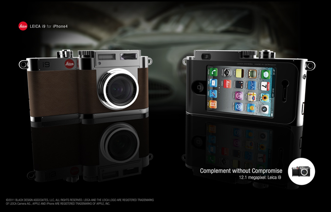 Turn your iPhone into a Leica i9