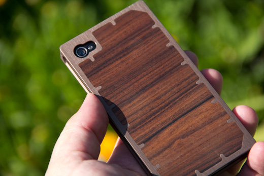 exo10 7 The Exovault EXO10 iPhone case is work of art in wood and metal