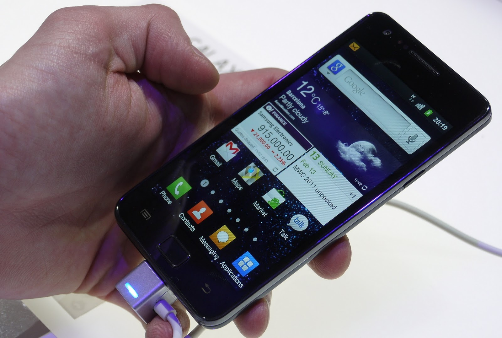 Samsung Galaxy S II pre-orders eclipse 3 million units worldwide