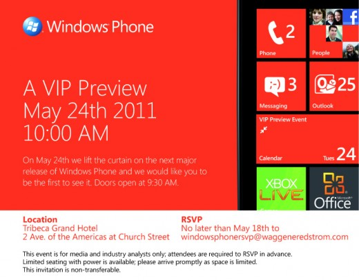 image001 520x406 Microsoft to show off next major release of Windows Phone on May 24th
