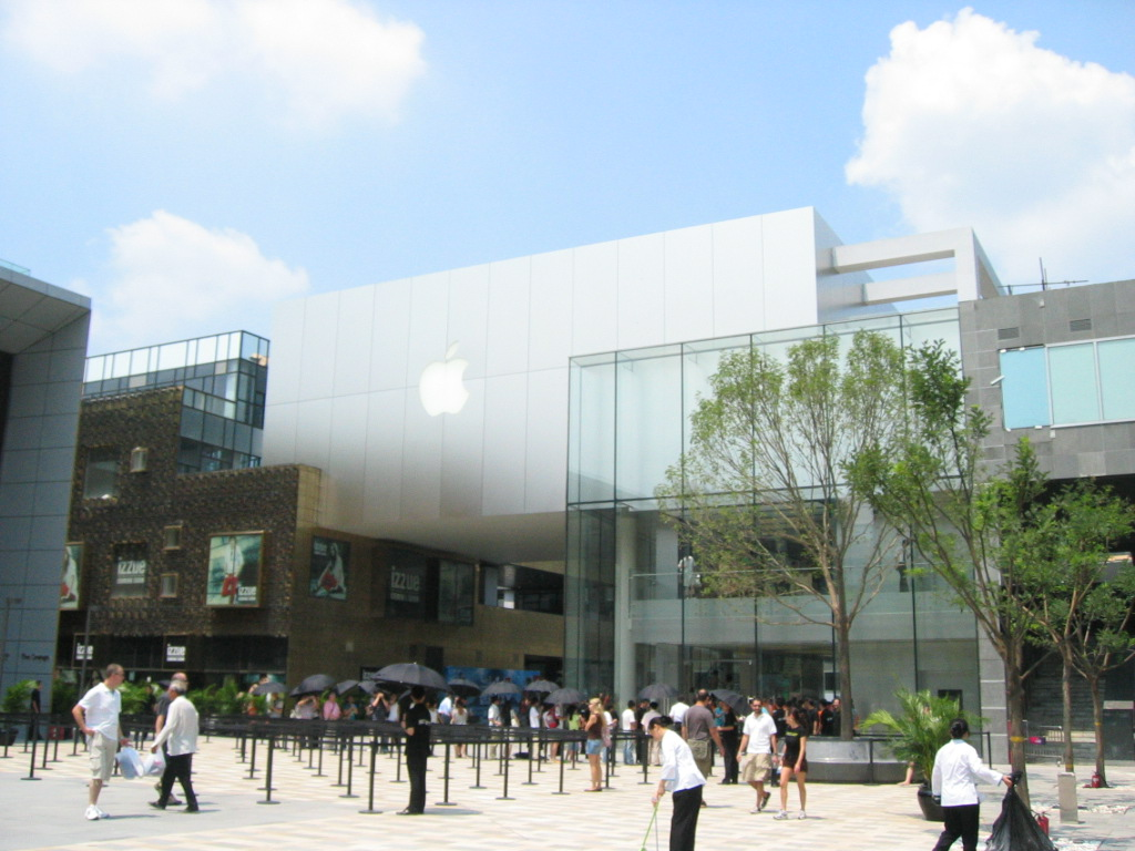 Apple compensates customer injured during unrest at Beijing store