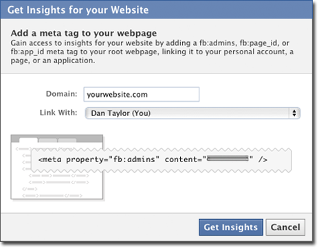 insights Tracking website stats with Facebook Insights