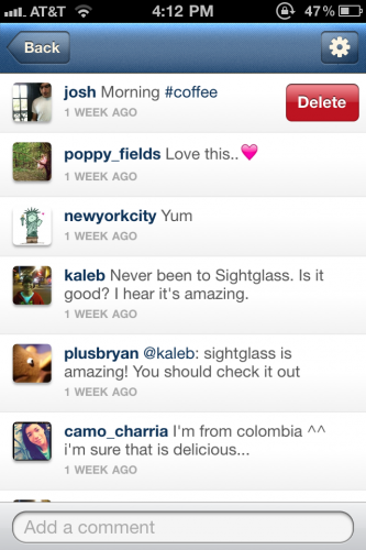 interactivecommentscreen 333x500 Instagram updated to add double tap likes and improved comments